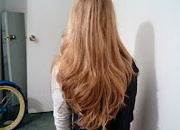back of hair after Goody brush