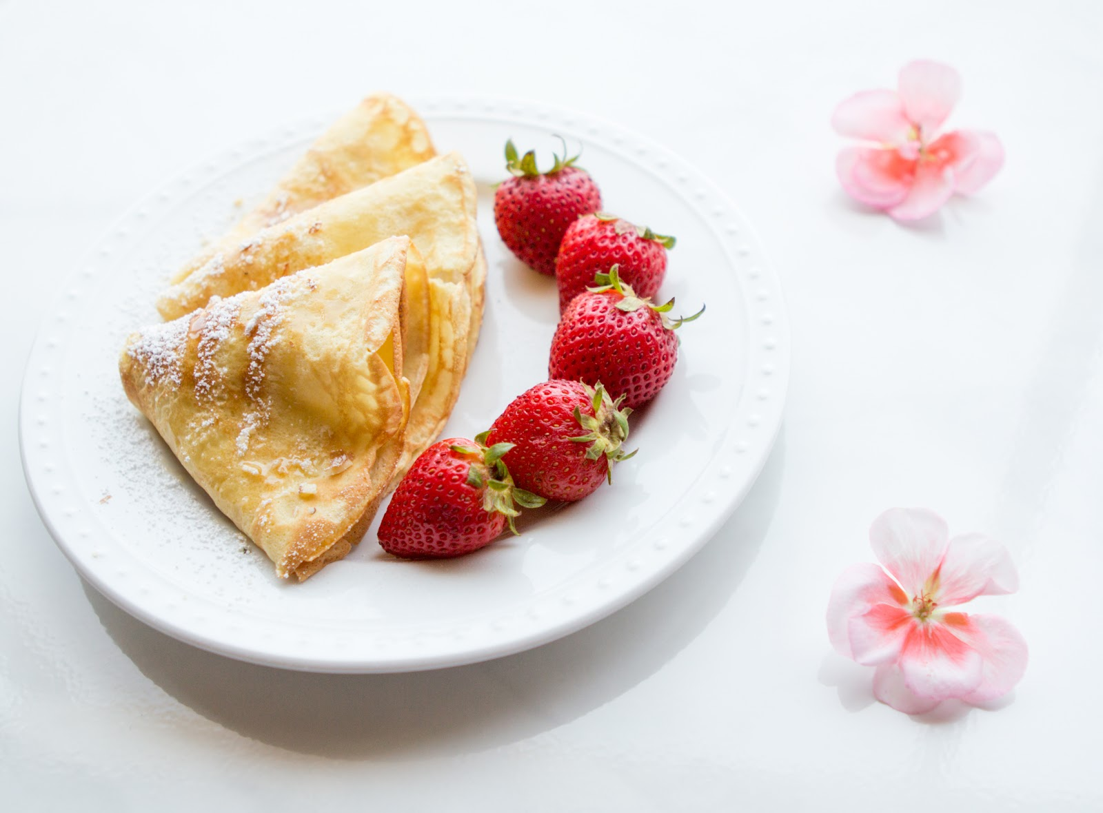 Sunday Brunch Recipe Swedish Strawberry Pancakes Recipe