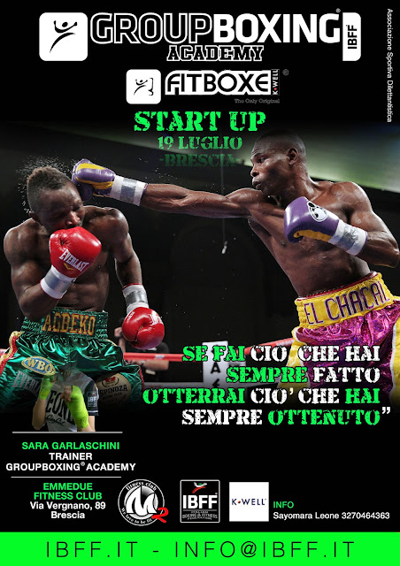 GB® FitBoxe® Start Up Course- Lombardia, 19 luglio 2015 a Brescia