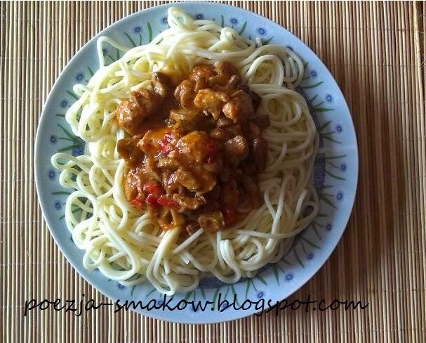 Spaghetti bolońskie inaczej.