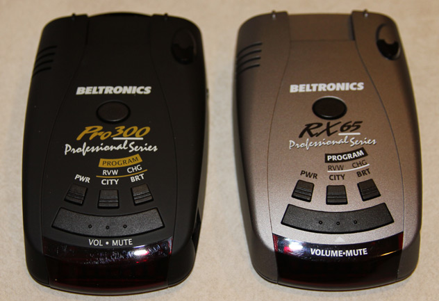 beltronics rx65 professional series manual