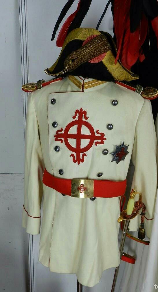 Uniforme Civil de los Caballeros del Muy Ilustre Cabildo de Caballeros de Cuenca