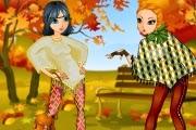 Rengarenk Kızlar Giydir