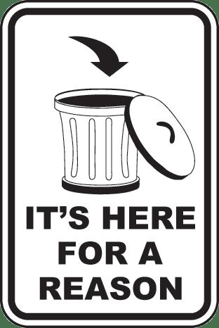 Membuang Sampah Sila Buang Sampah Ke Dalam Tong Sampah