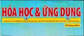 Download Tạp chí hóa học và ứng dụng số 4 (184) - 2013
