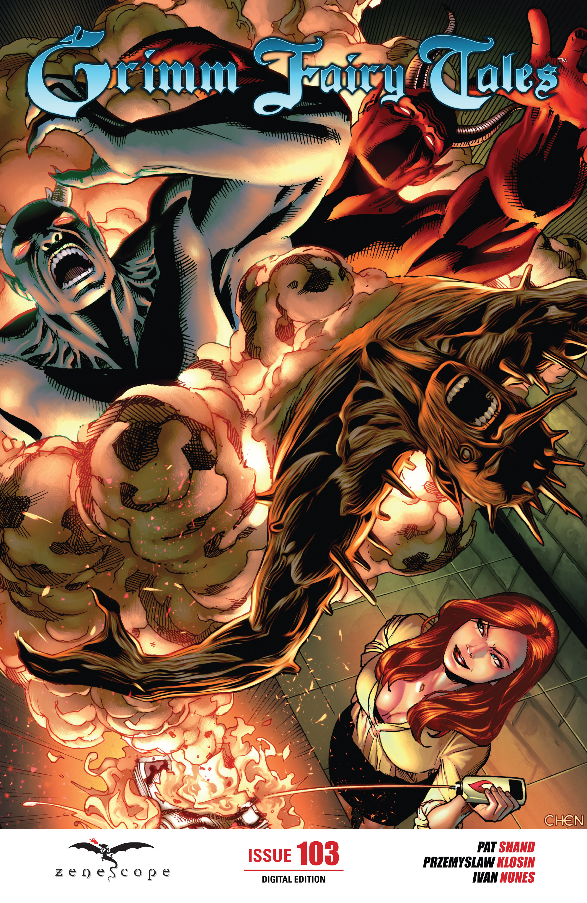 Grimm Fairy Tales (2005) Issue #103 #106 - English 1