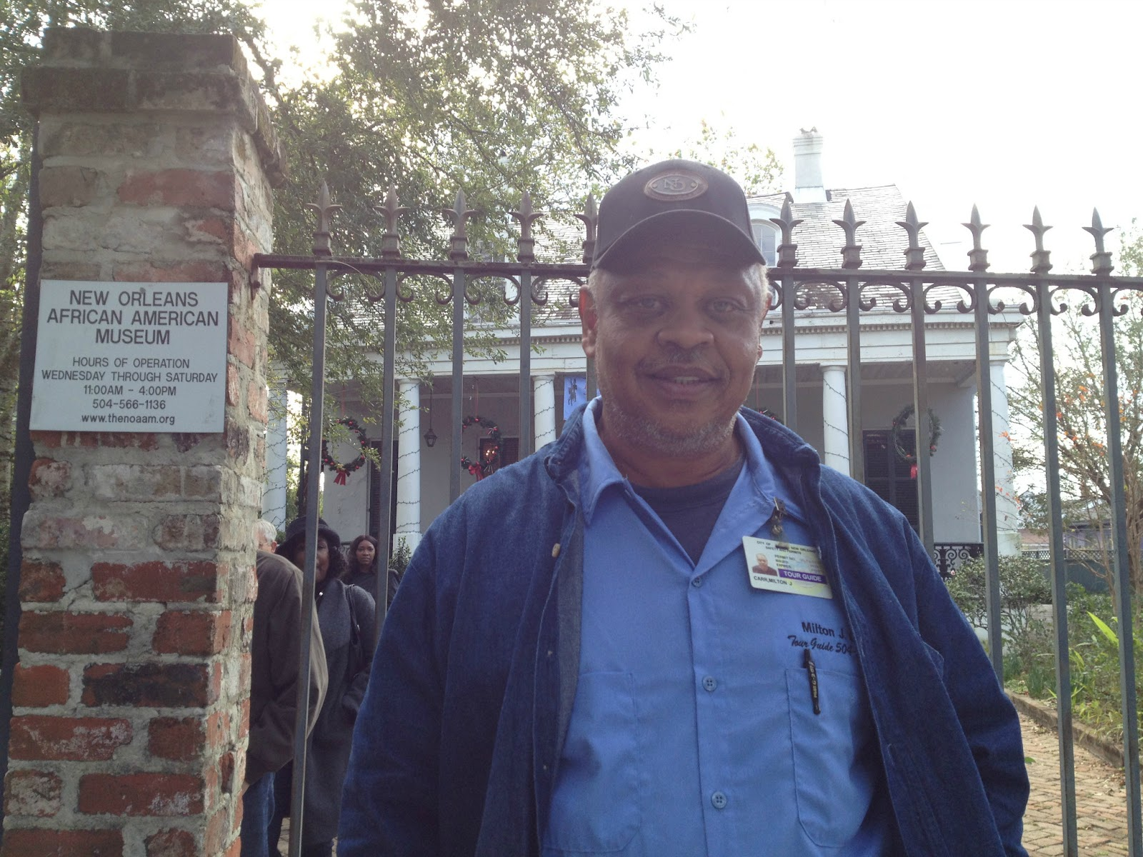 Milton Tour Guide at New Orleans African American Museum
