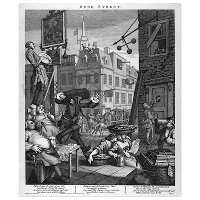 William Hogarth, Beer Street 1751
