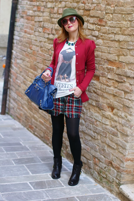 Paul & Joe jacket, Carmens Padova biker boots, Fashion and Cookies, fashion blogger