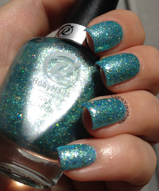 RobyNails Magic Aquamarine