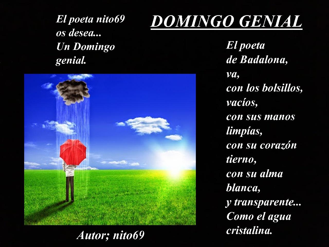 DOMINGO GENIAL