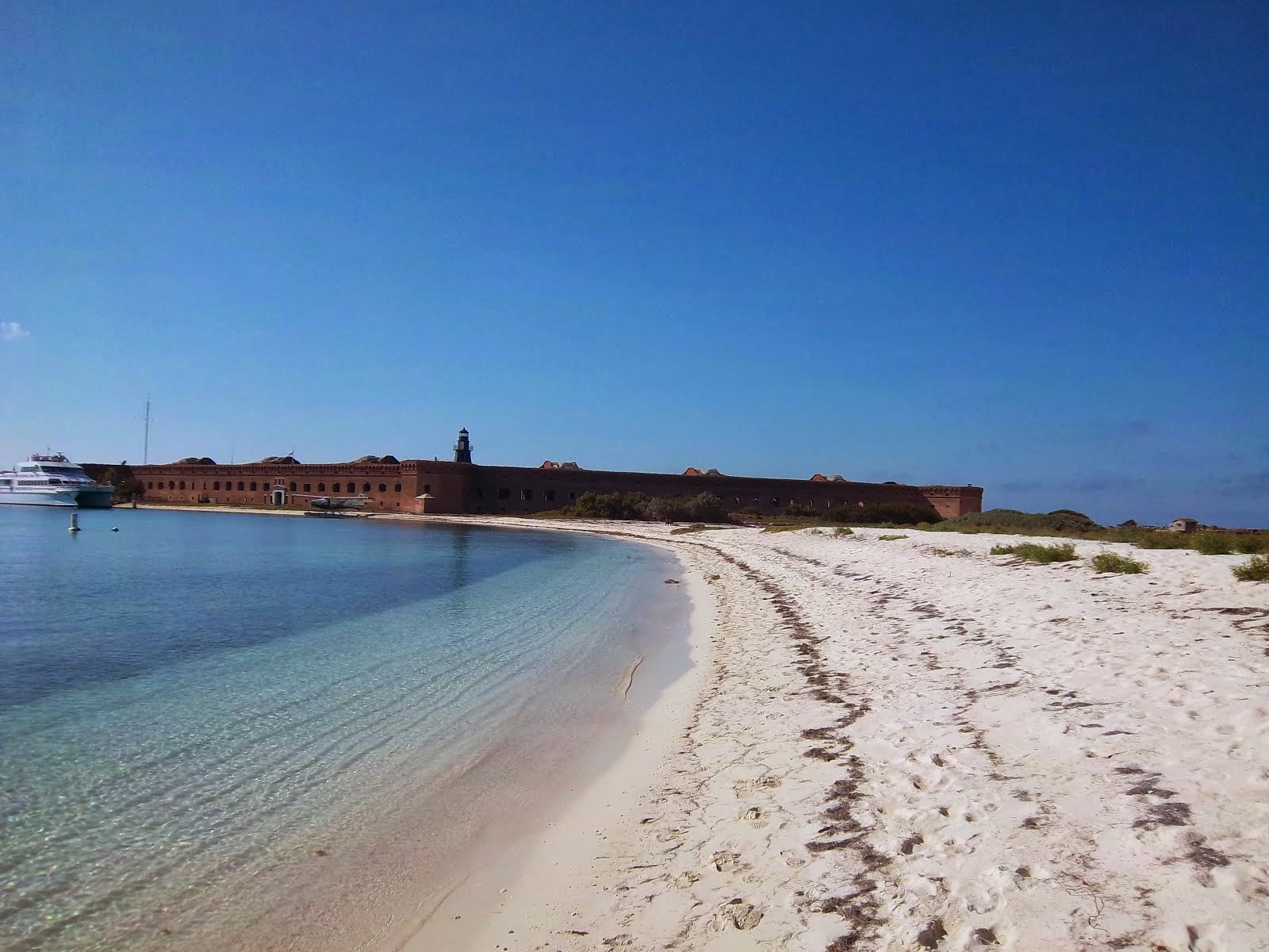 Fort Jefferson in the Gulf of Mexico