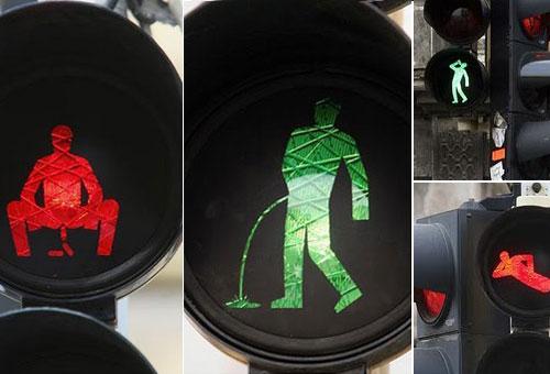 Komik Trafik İşaretleri kırmızı turuncu yeşil işaretler komik sahneler trafikte yaşanan komik sahneler işemeli sıçmalı ayin trafik lambası sarhoşlar için trafik işareti traik lambalarında sinyalizasyon