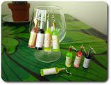 Viinipullo-korvikset