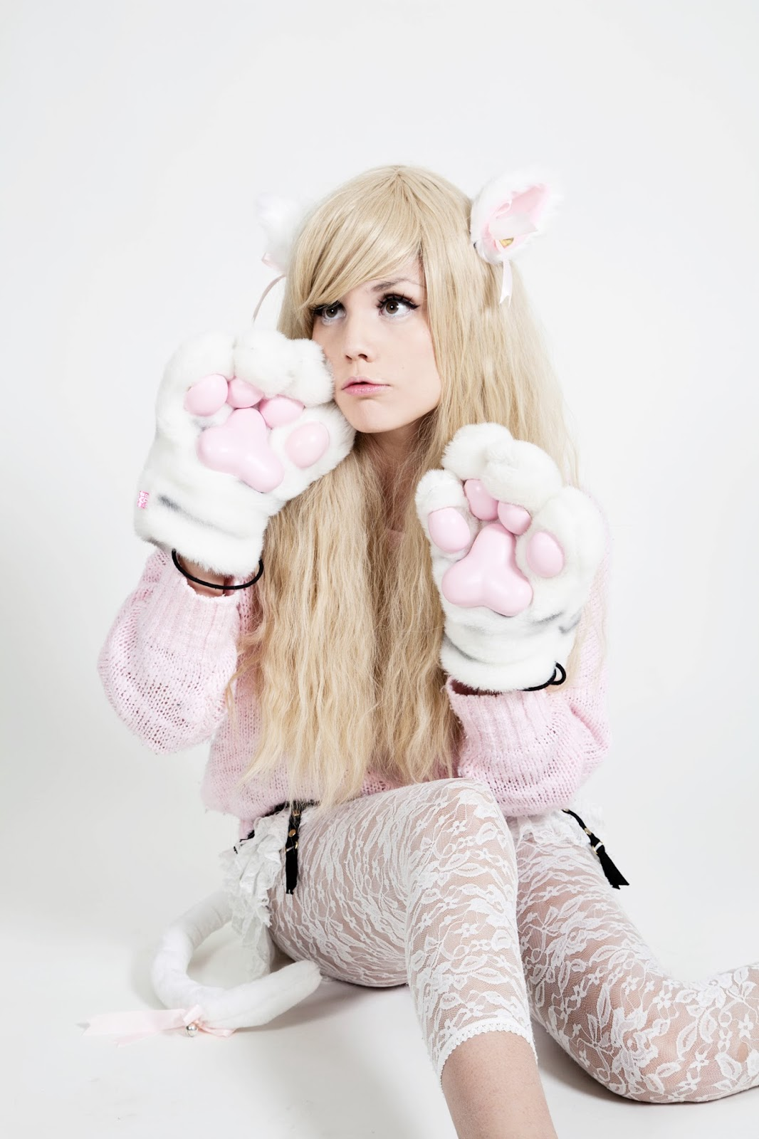cosplay Blonde girl