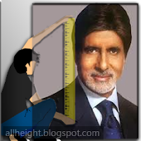 Amitabh Bachchan Height - How Tall