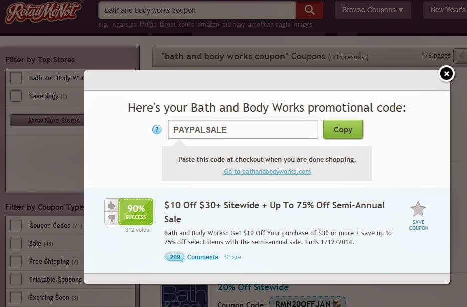 Bath & Body works coupons rarely include free shipping and a discount, however they sometimes offer a free item with purchase, such as a free candle or signature care item that can exceed the $ shipping value. Bath & Body Works coupon codes apply to every single item with no exclusions - including sale items.
