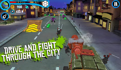 TMNT: ROOFTOP RUN v2.01 Mod [Unlimited Money]