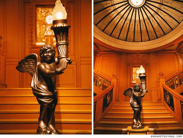 Парадная лестница на Титанике