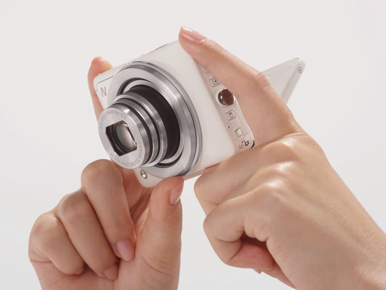 Funciones Canon PowerShot N