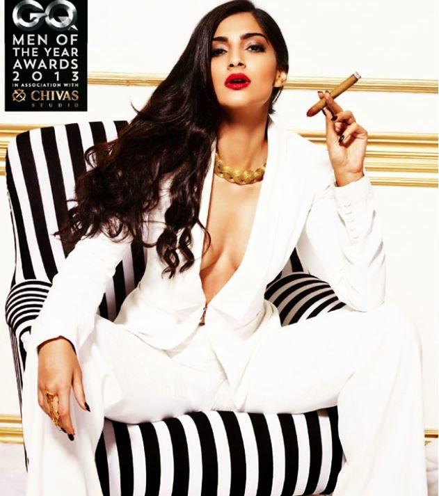 Sonam Kapoor's Big huge assets hot pics