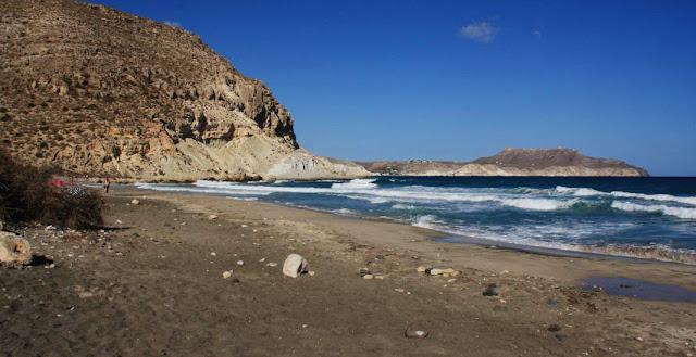 Nude beach Cala Del Plomo (Almeria, Spain)