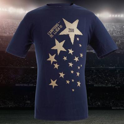 camiseta Nike FC Barcelona campeones de la Liga 2011