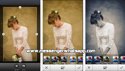 Efectos para tus fotos con WhatsApp Image Share