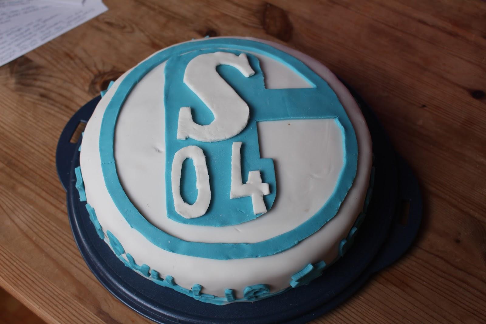 Schalke 04 / Fondanttorte   Küchenhexe