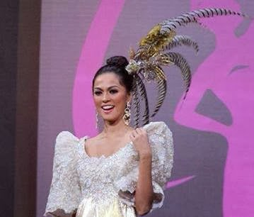 Ariella Arida National Costume in Miss Universe 2013