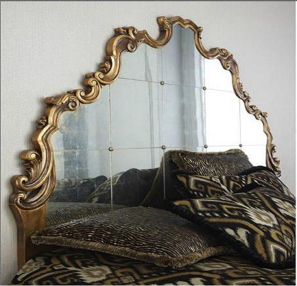 Inspiraci n de fin de semana espejos antiguos como - Cabeceros de cama antiguos ...