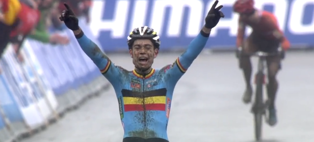 Championnat du monde cyclo-cross Wout van Aert
