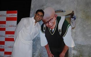 Abhishekh bachan in paa