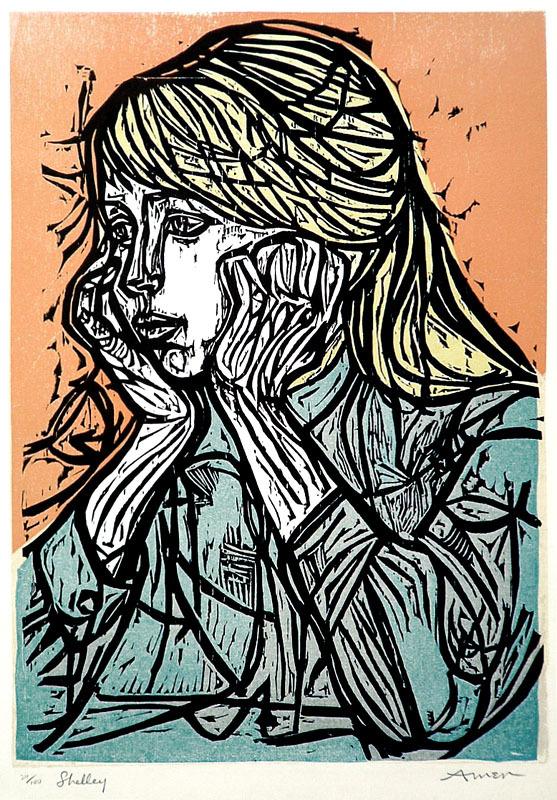 Irving Amen - Piazza San Marco - Art of the Print
