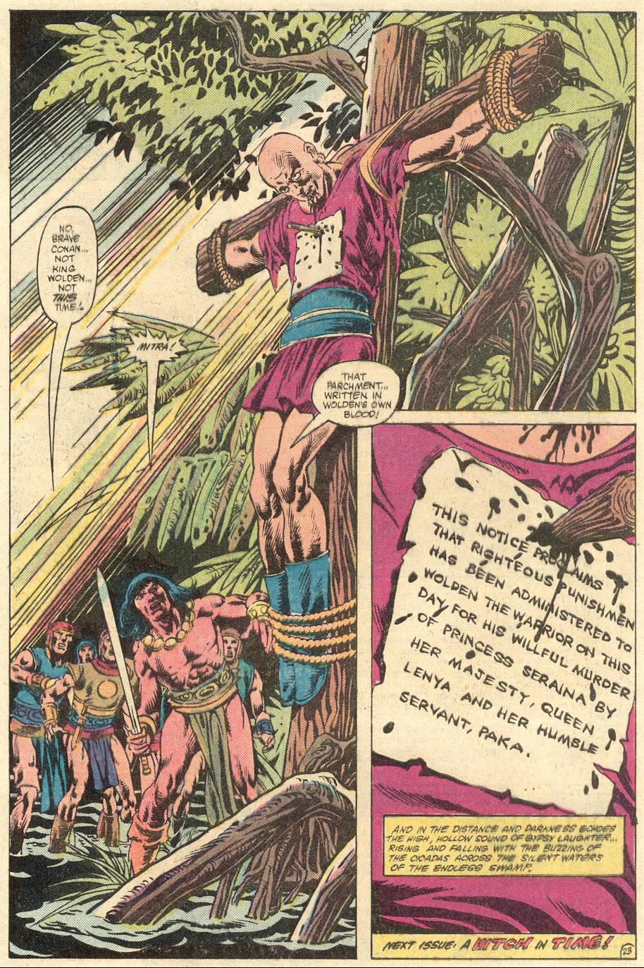 Conan the Barbarian (1970) Issue #133 #145 - English 25