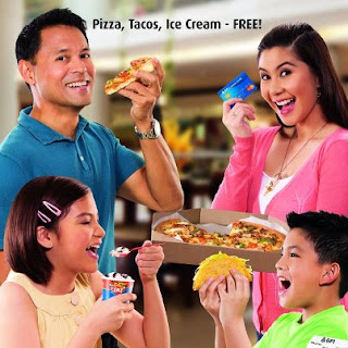BPI Express Credit Pizza, Tacos, Ice Cream FREE