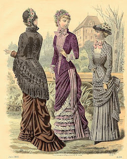 Vintage Ladies Fashion Prints.