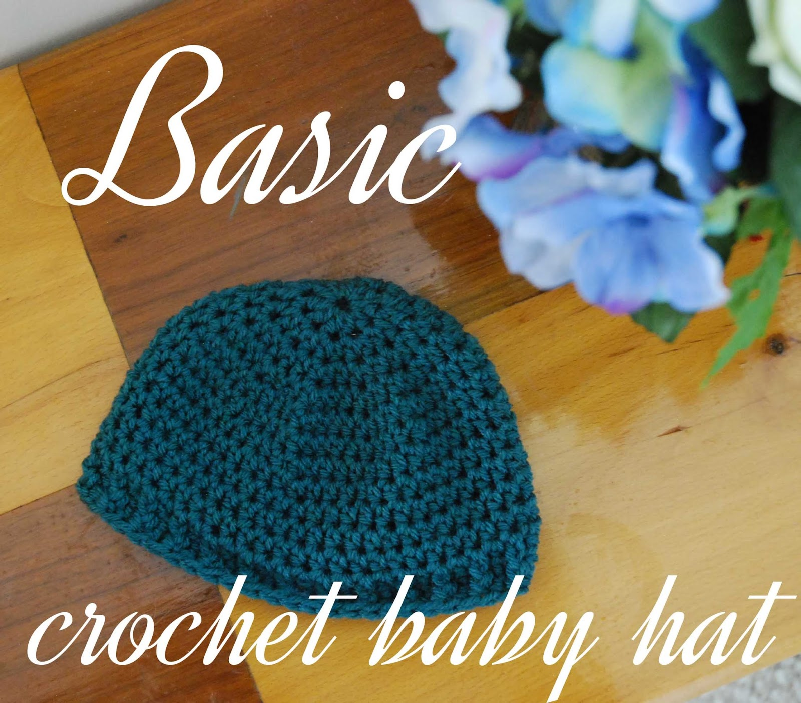 Kitty Adventures Basic Baby Hat Crochet Tutorial