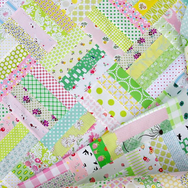 Pink Lemonade - A Quilt in Progress | Red Pepper Quilts 2015