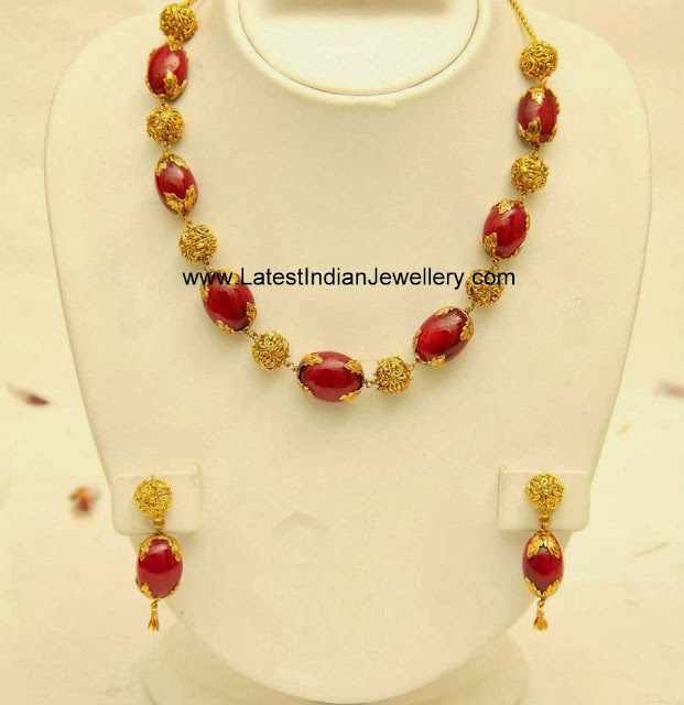Contemporary Beads and Gold Jewellery