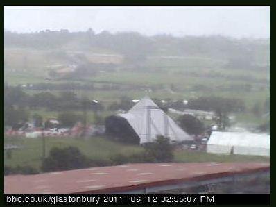BBC webcam at Glastonbury