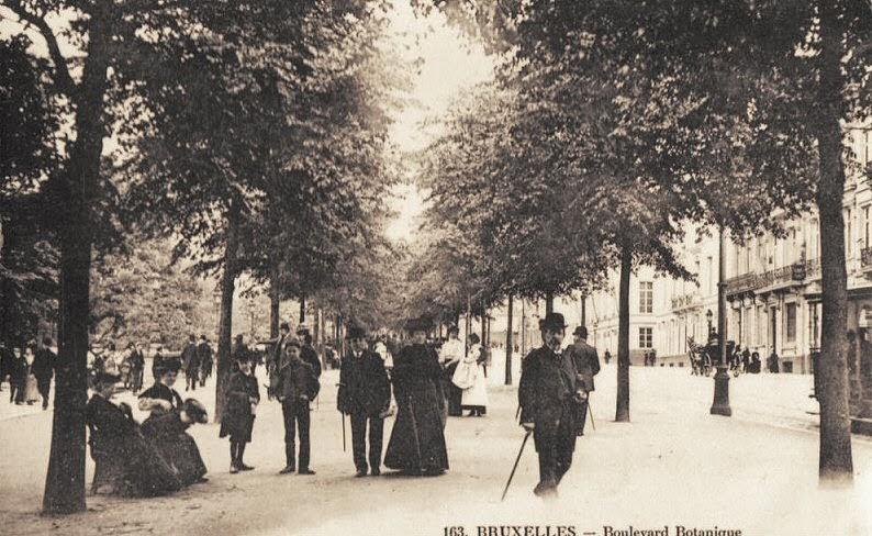 Nostalgie vues d 39 auderghem entre 1890 et 1940 ou la saga for Bd du jardin botanique 50 bruxelles