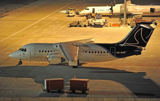 Korongo Airlines Avro RJ100