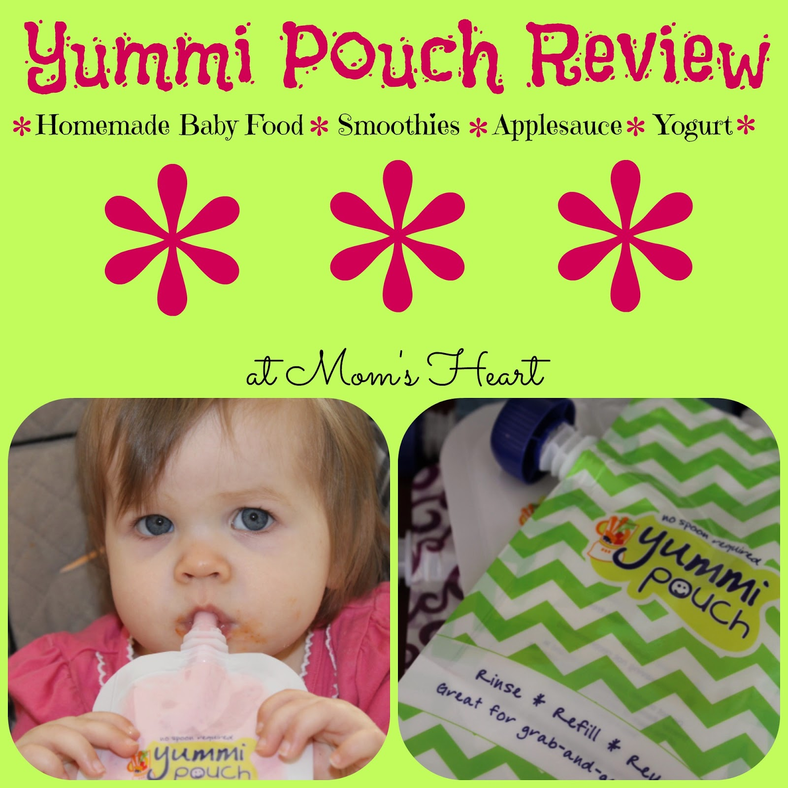 Yummi Pouch Review