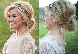 Wedding hairstyle inspiration low bun