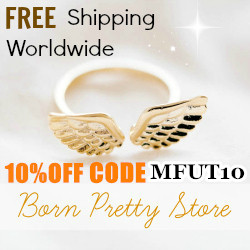 Discount code for Born Pretty Store's Jewelry and Accessories: get 10% off with MFUT10