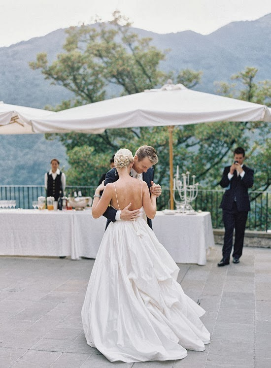 stunning Italy wedding