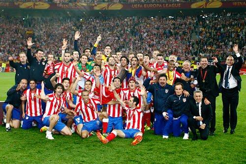 Atlético de Madrid campeón de la Europa League 2012