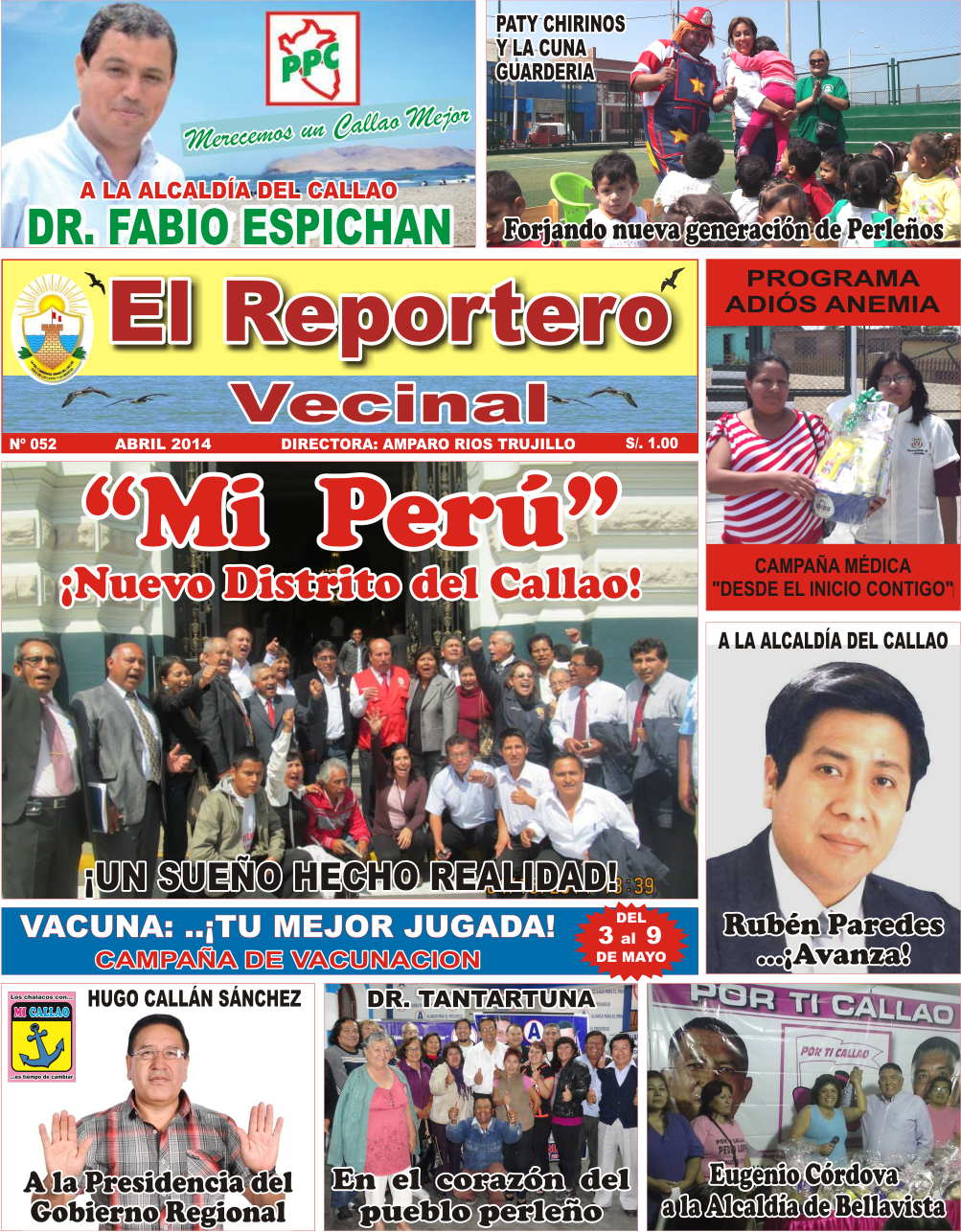 """PERIÓDICO """"EL REPORTERO VECINAL"""""""