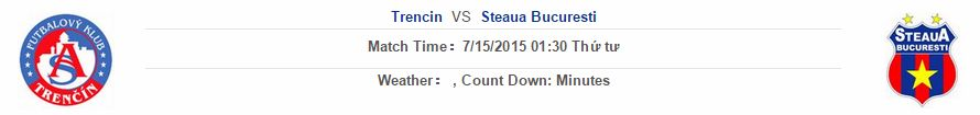 Trencin vs Steaua Bucurestii link vào 12bet